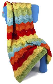 Berroco FREE Knit Baby Blanket