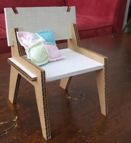 Upcycled Doll Chair
