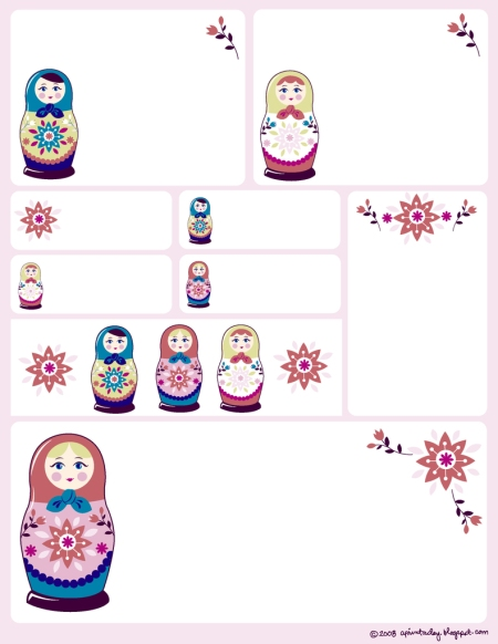 Matryoshka Labels