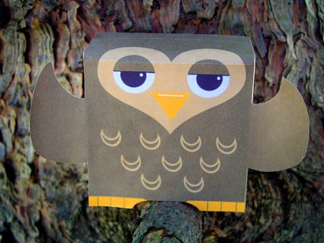 Hoots - Paper Owl Toy